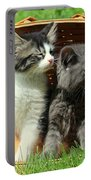 Kitten Smells Something Good Portable Battery Charger