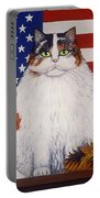 Kitty Ross Portable Battery Charger by Linda Mears