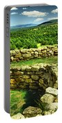 Kiva And View Pecos Ruins New Mexico Portable Battery Charger