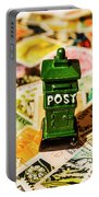 Kiwi Postage Scene Portable Battery Charger