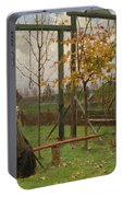 Klever, Yuli The Younger 1882-1942 Autumn Twilight Portable Battery Charger