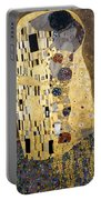 Klimt: The Kiss, 1907-08 Portable Battery Charger