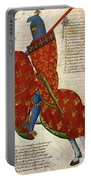 Knight, 14th Century Portable Battery Charger