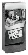 Knight Of The Bath Portable Battery Charger