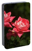Knockout Roses Portable Battery Charger