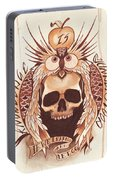 Knowledge Portable Battery Charger by Deadcharming Art