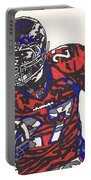 Knowshon Moreno 2 Portable Battery Charger by Jeremiah Colley