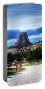 Koa Devils Tower Wyoming Portable Battery Charger