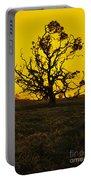 Koa Tree Silhouette Portable Battery Charger