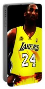 Kobe Bryant Ready For Battle Portable Battery Charger
