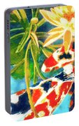 Koi Fish #104 Portable Battery Charger