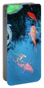 Koi Pond 1 Portable Battery Charger