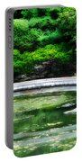 Koi Pond Bridge - Japanese Garden Portable Battery Charger