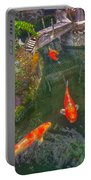 Koi Pond  Portable Battery Charger