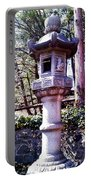 Koi Pond Statue Portable Battery Charger