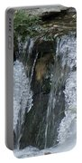 Koi Pond Waterfall Portable Battery Charger