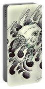 Koi Through The Water Portable Battery Charger