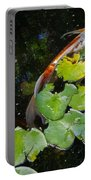 Koi With Lily Pads A Portable Battery Charger