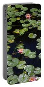 Koi With Lily Pads E Portable Battery Charger