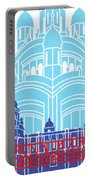 Kolkata Skyline Pop Portable Battery Charger