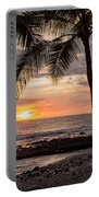 Kona Sunset Portable Battery Charger by Brian Harig