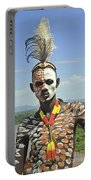 Konso Tribe Man Portable Battery Charger