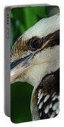 Kookaburra Portrait By Kaye Menner Portable Battery Charger