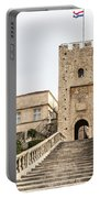 Korcula Old Town Stairs Portable Battery Charger