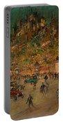 Korovin, Konstantin 1861-1939 Les Grands Boulevards, Paris Portable Battery Charger