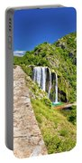 Krcic Waterfall In Knin Scenic View Portable Battery Charger