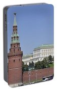 Kremlin Wall Panorama Portable Battery Charger