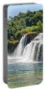 Krka National Park Waterfalls 9 Portable Battery Charger