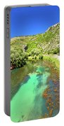 Krka River Below Knin Fortress View Portable Battery Charger