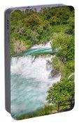 Krka Waterfall Croatia Portable Battery Charger
