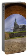 Kronborg Castle Through The Archway Portable Battery Charger