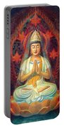 Kuan Yin's Prayer Portable Battery Charger