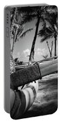Kuau Palm Trees Hawaiian Outrigger Canoe Paia Maui Hawaii Portable Battery Charger