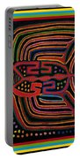 Kuna Indian Flying Fish  Portable Battery Charger
