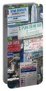 Kuta Street Signs -- Bali Portable Battery Charger