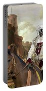 Kuvasz Art Canvas Print - The Enchanted Forest Portable Battery Charger
