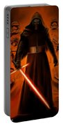 Kylo Ren In The Battlefield Portable Battery Charger