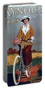 Kynoch Cycles - Bicycle - Vintage Advertising Poster Portable Battery Charger