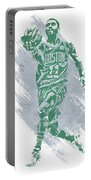 Kyrie Irving Boston Celtics Water Color Art Portable Battery Charger