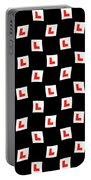 L-plate Wallpaper Portable Battery Charger