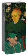 La Berceuse. Woman Rocking A Cradle. Augustine-alix Pellicot Roulin Portable Battery Charger