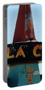 La Cita In Tucumcari On Route 66 Nm Portable Battery Charger