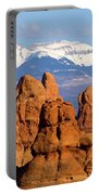 La Sal Mountains Portable Battery Charger