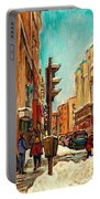 La Senza St Catherine Street Downtown Montreal Portable Battery Charger