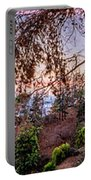 L A Skyline With Griffith Observatory - Panorama Portable Battery Charger