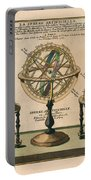 La Sphere Artificielle - Illustration Of The Globe - Celestial And Terrestrial Globes - Astrolabe Portable Battery Charger